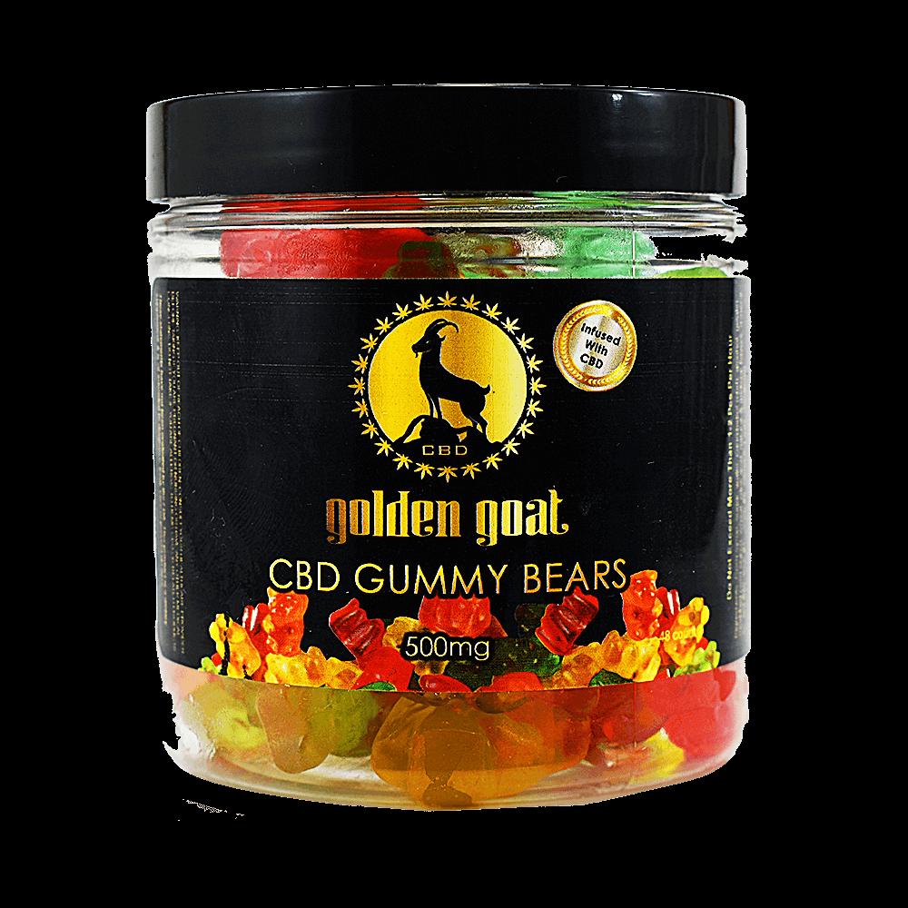 CBD Gummy Bears, 500mg
