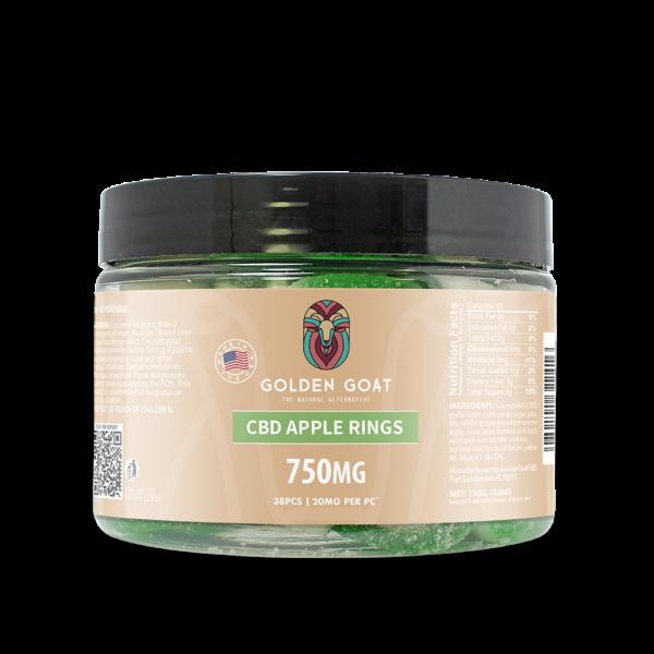CBD Apple Rings - 750mg