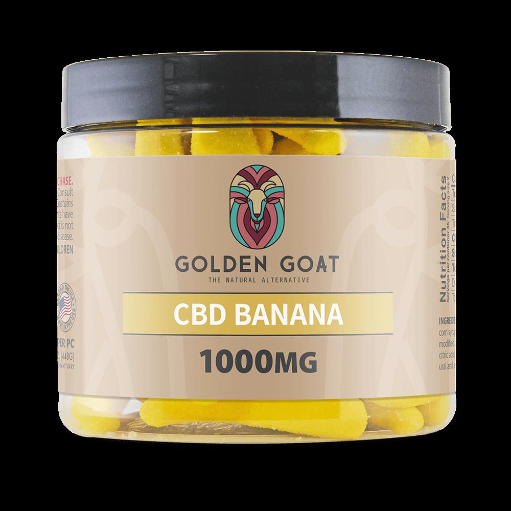 GG CBD Banana Gummies 1000mg Product
