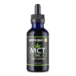 CBD MCT Oil - 1500mg - 2oz.