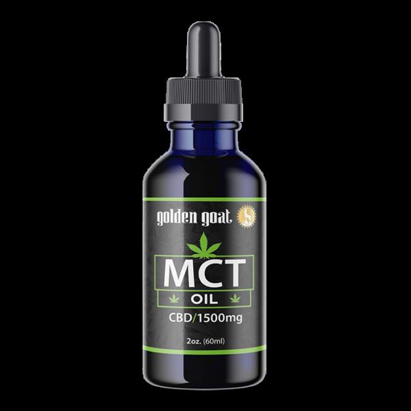 CBD MCT Oil - 1500mg - 2oz.