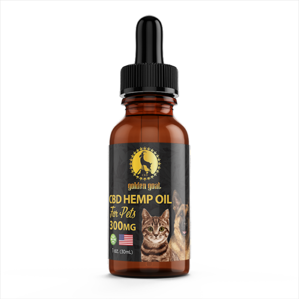 CBD Hemp Oil for Pets - 1oz