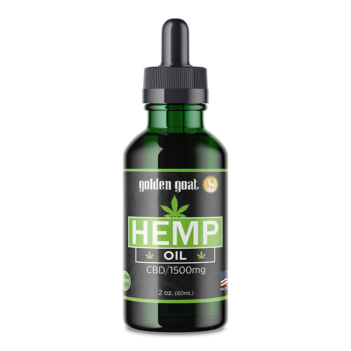 CBD Hemp Oil - 1500mg - 2oz.