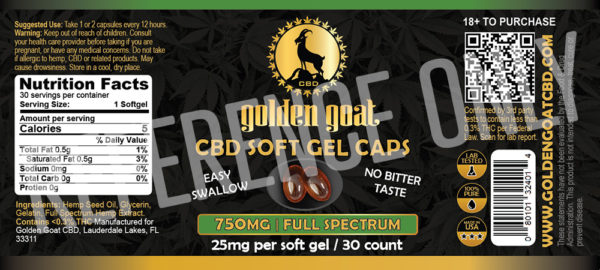 SOFT CAPSULES fullSpectrum label lrz - Our Full Spectrum CBD Gel Capsules are easy to take and easy on the pallet. Each capsule has 25mg of cannabinoids and is certified for potency. Full Spectrum CBD, unlike Broad Spectrum, contains more elements found in the hemp plant, not just CBD, providing a variety of natural cannabinoids derived from organically-grown hemp.
