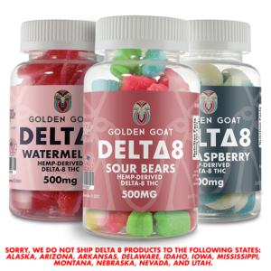 Delta-8 Gummies - 500mg
