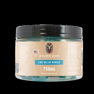 CBD Blue Raspberry Rings - 750mg