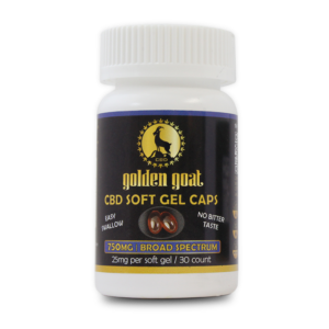 CBD Broad Spectrum Soft Gel Caps - 750mg