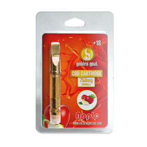 CBD Vape Cartridge - 750mg - Apple