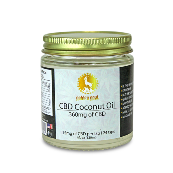 CBD Coconut Oil - 350mg