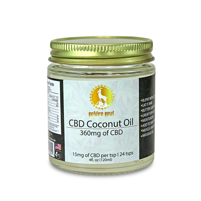 CBD Coconut Oil - 350mg