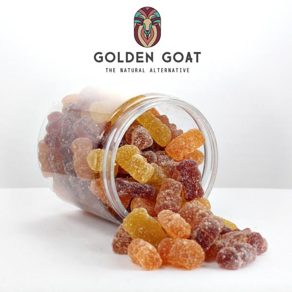 Vegan CBD Fruit Bears - Open Jar