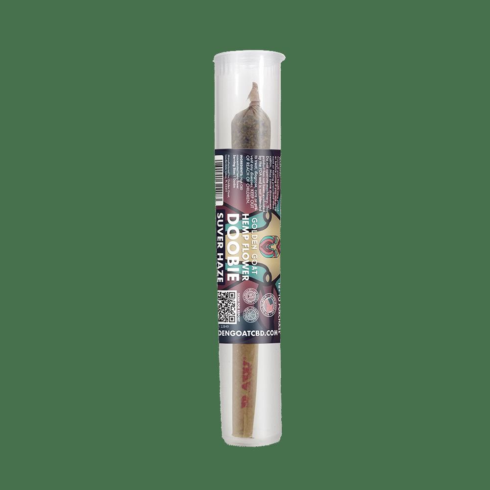 CBD Hemp Flower Doobie - 100mg - Suver Haze
