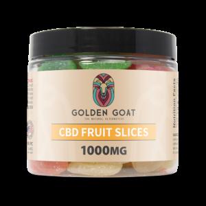 CBD Gummy Fruit Slices - 1000mg - 16oz