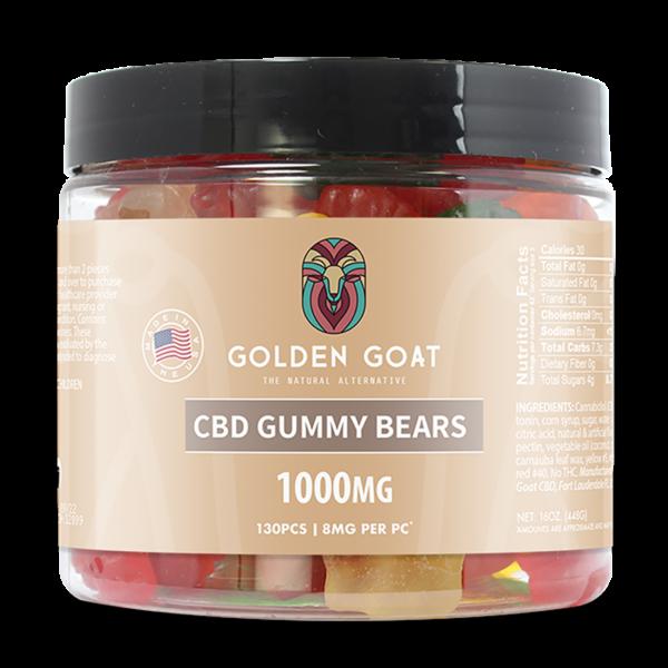 CBD Gummy Bears - 1000mg