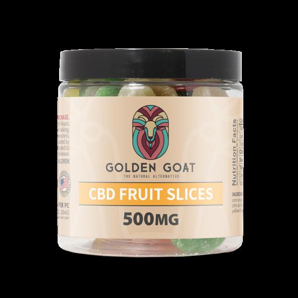 CBD Gummy Fruit Slices - 500mg - 8oz