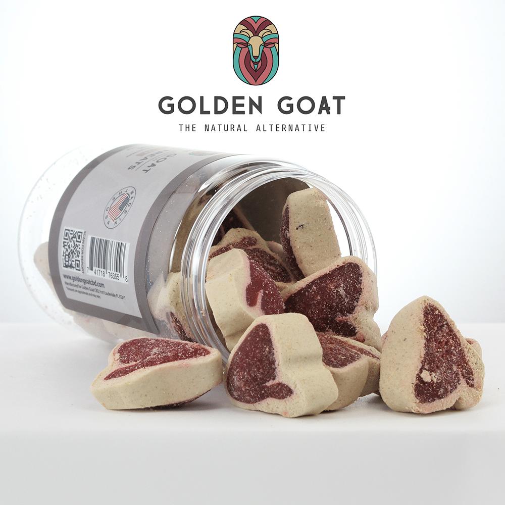 CBD Pet Treats - 200mg - Steak Bites - Label