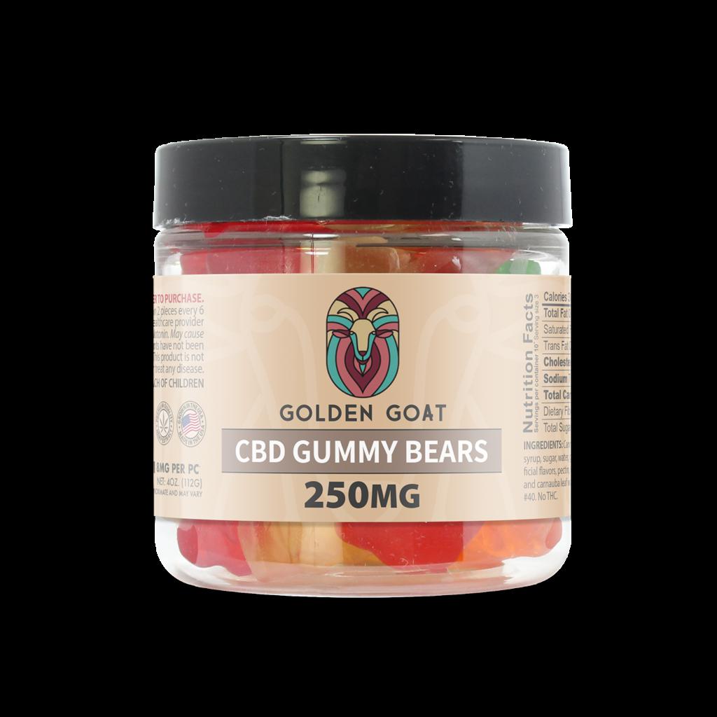 CBD Gummy Bears - 250mg - 4oz