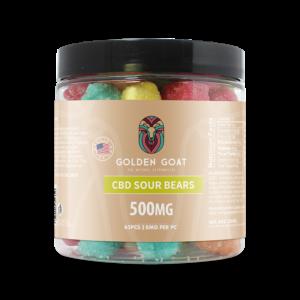 CBD Sour Bears - 500mg - 8oz