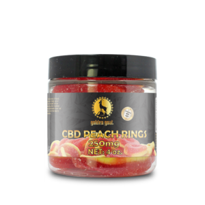 CBD Peach Rings - 250mg