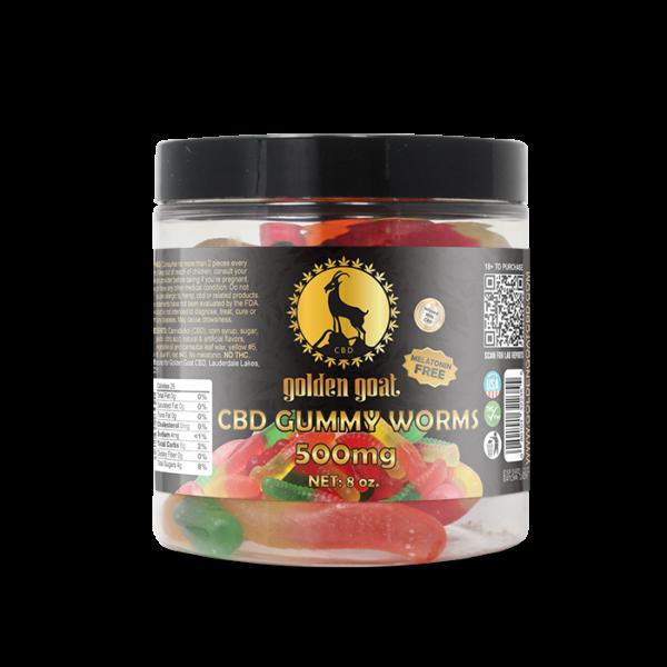 CBD Gummies - 500mg - Fruit Worms