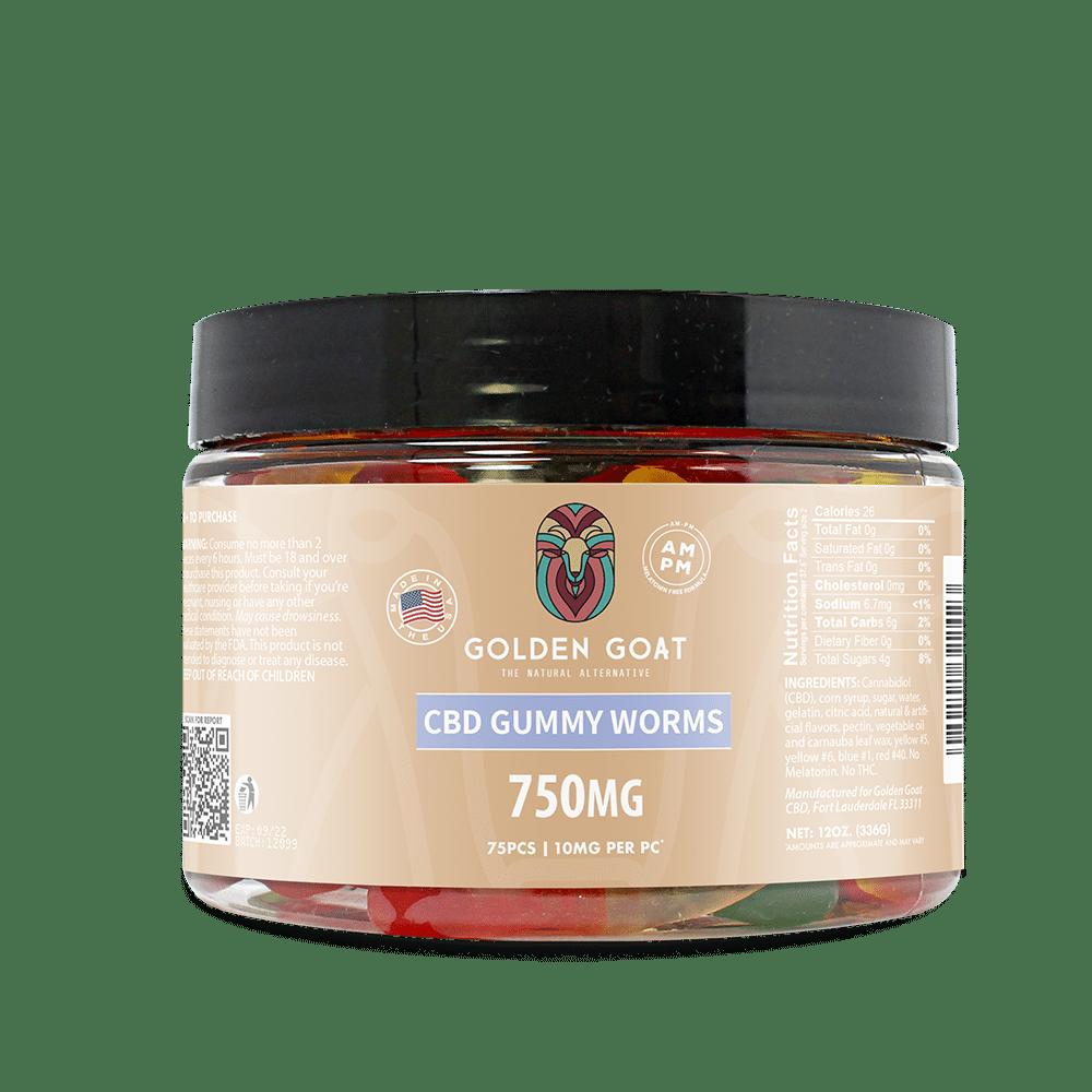 CBD Gummy Worms - 750mg