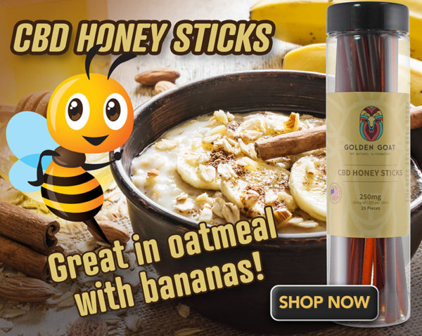 honey stix oatmeal lrz2 - Delicious pure honey with 250mg of premium CBD per jar. Twenty-five honey sticks with a medium-dose (10mg) of CBD in each. Great in tea, on pancakes and as a snack for on-the-go. 25ct