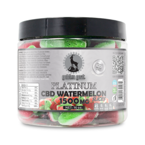 Platinum CBD Watermelon Slices - 1500mg