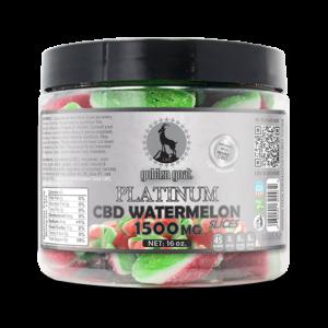 Platinum CBD Watermelon Slices - 1500mg