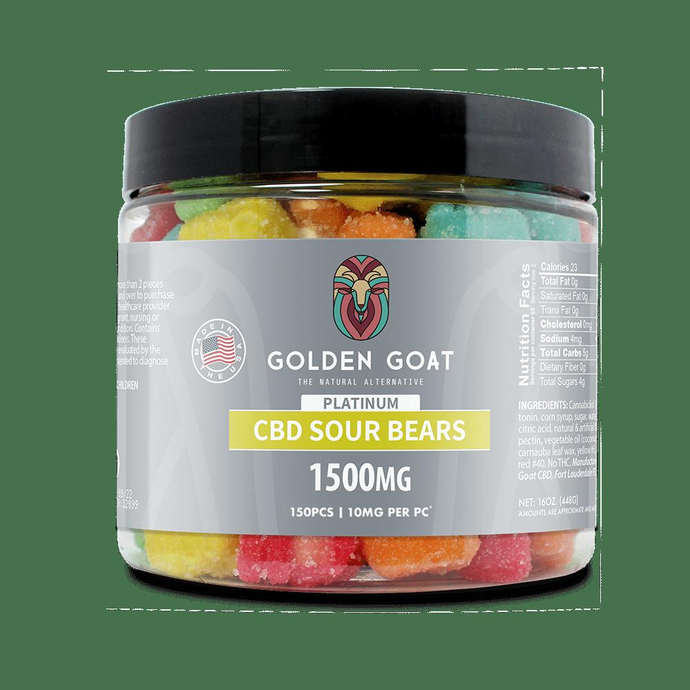 CBD Sour Bears - 1500mg
