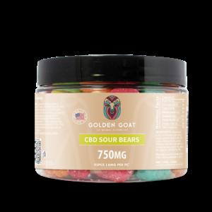 CBD Sour Bears - 750mg