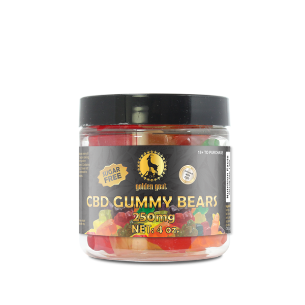 CBD Sugar Free Gummy Bears - 250mg