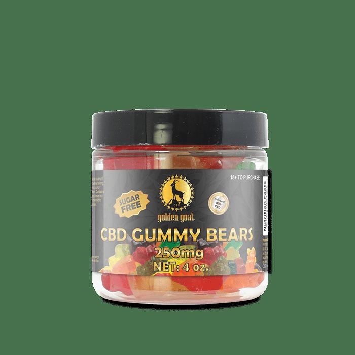 CBD Sugar Free Gummy Bears - 250mg