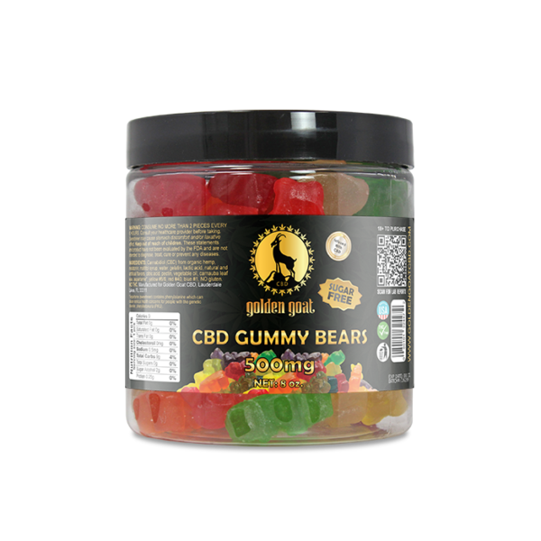 CBD Sugar Free Gummy Bears - 500mg