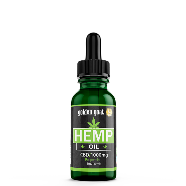 CBD Hemp Oil - 1000mg - 30mL - Peppermint