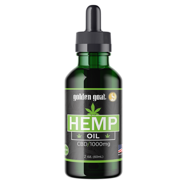CBD Hemp Oil - 1000mg - 60mL