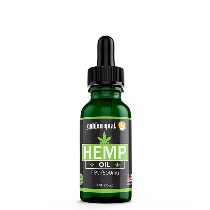 CBD Hemp Oil - 500mg - 30mL
