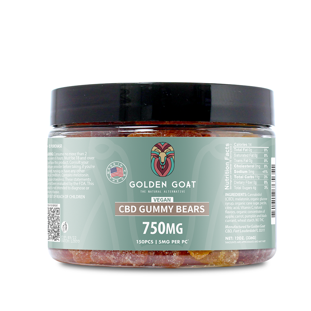 Vegan CBD Fruit Bears - 750mg