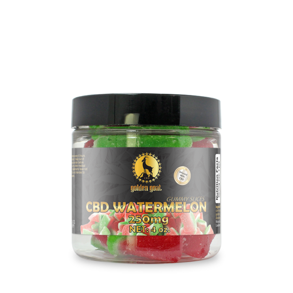 CBD Gummies - 250mg - Watermelon Slices