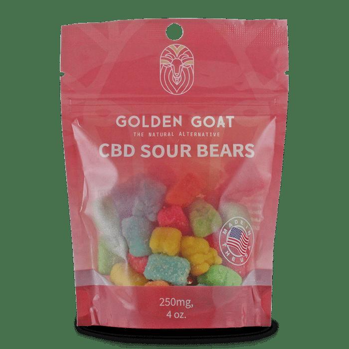 CBD Sour Bears - Bag - 4oz.