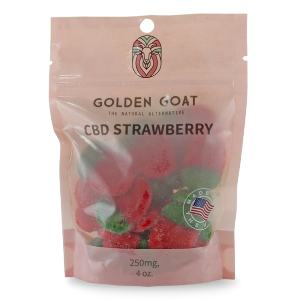 CBD Strawberrys - Bag - 4oz.