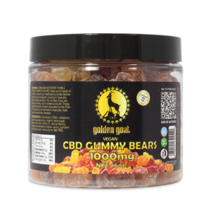 CBD Gummies - 1000mg - Vegan Fruit Bears