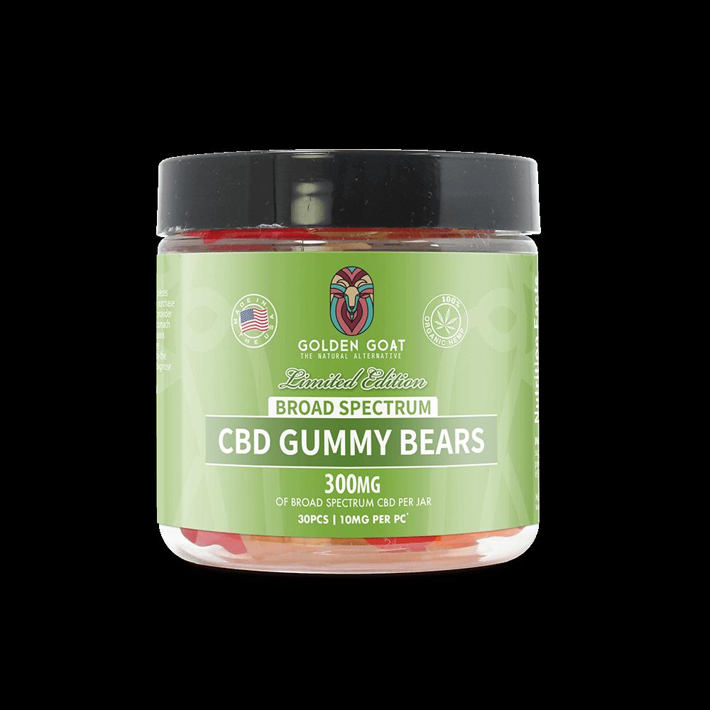 CBD Broad Spectrum Gummy Bears 300mg