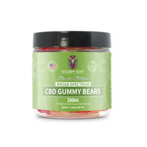 Broad Spectrum CBD Gummy Bears - 300mg - 4oz